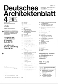 Architektenblatt
